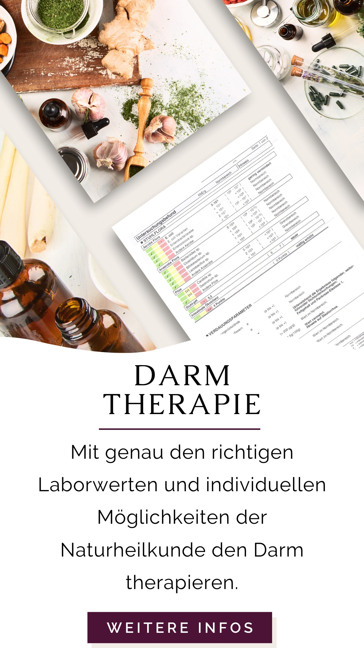 Darmtherapie Praxisinformationen